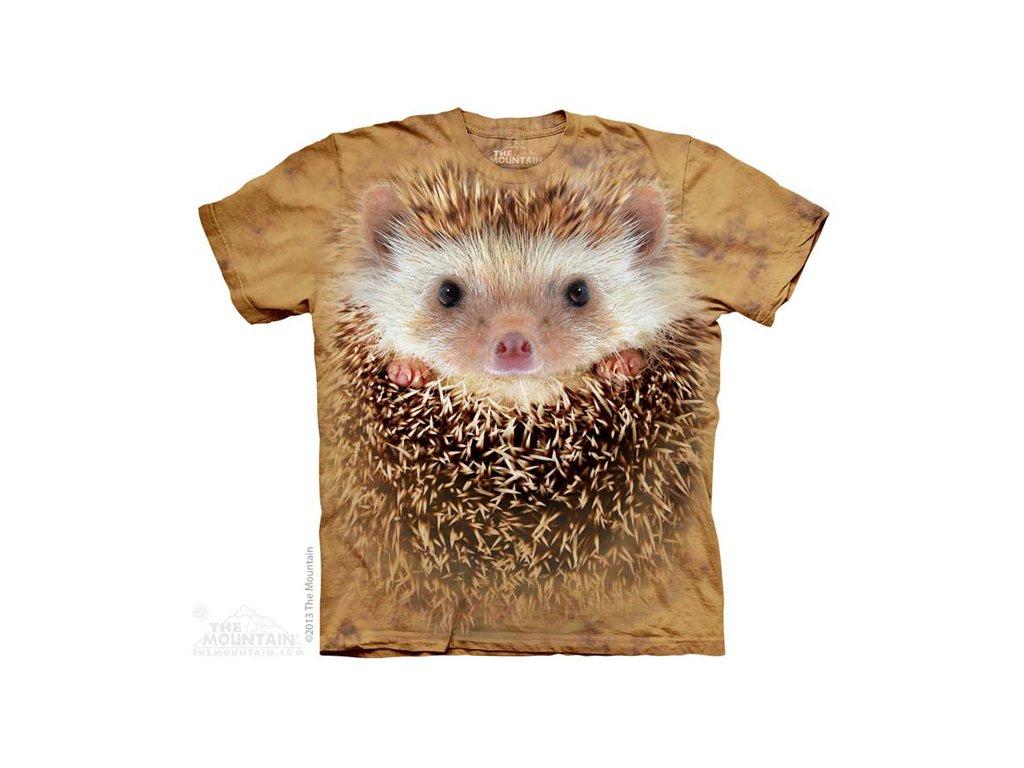 Tričko s potiskem ježek - Dětské