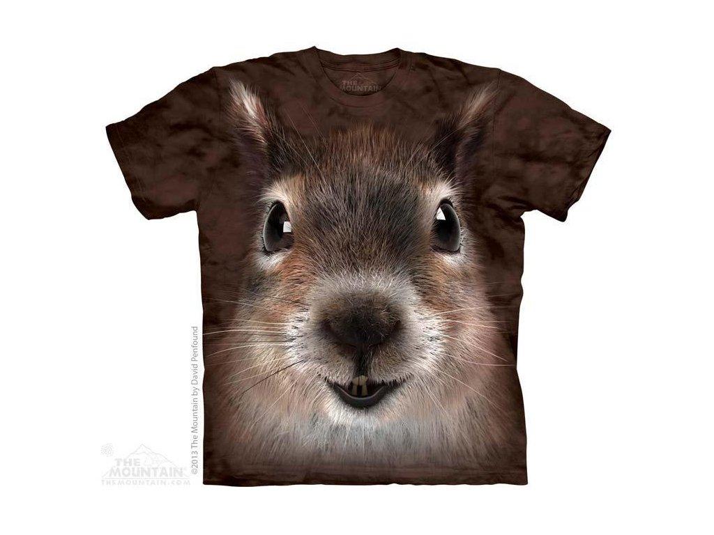 Tričko s potiskem Veverky