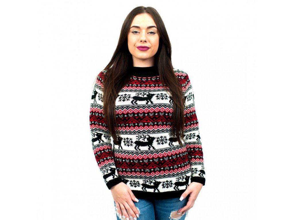 Dámský vánoční svetr - černý · Dámský vánoční svetr - černý ... ca119e4df8