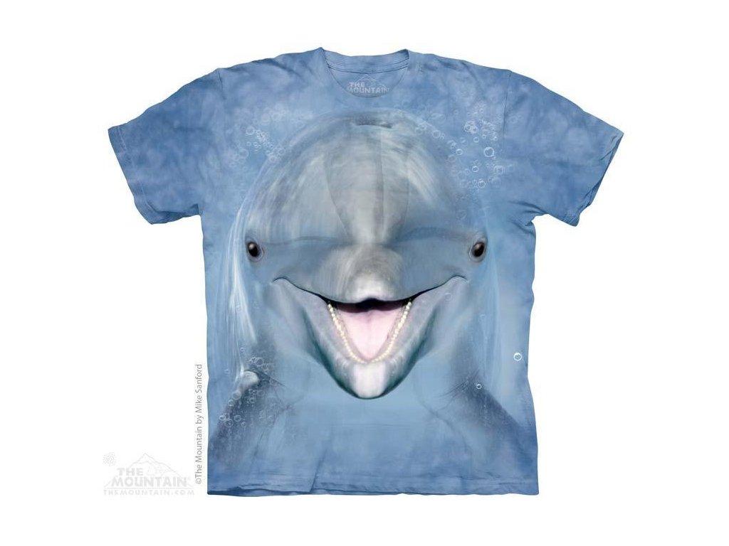 Tričko s potiskem delfína
