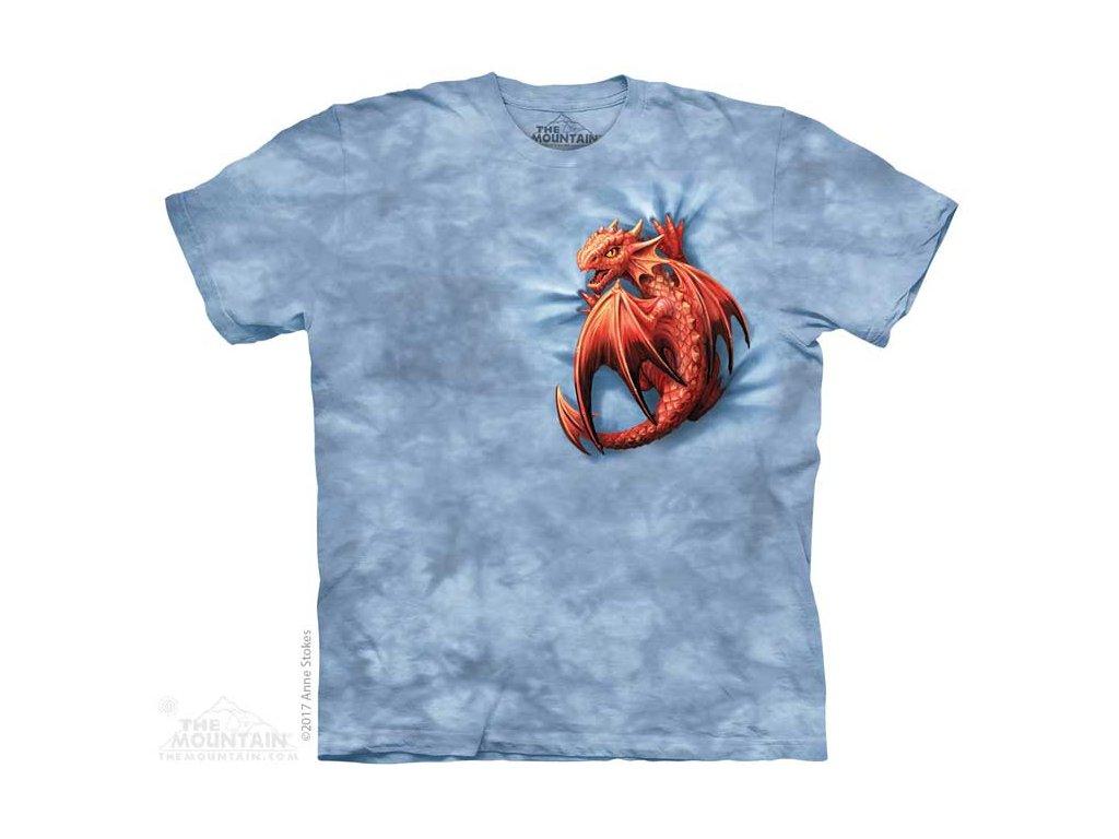Dětské Tričko Malý Červený Dráček