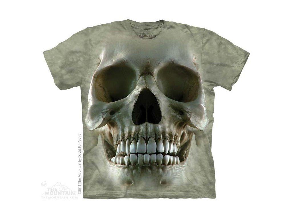 Tričko s potiskem lebky