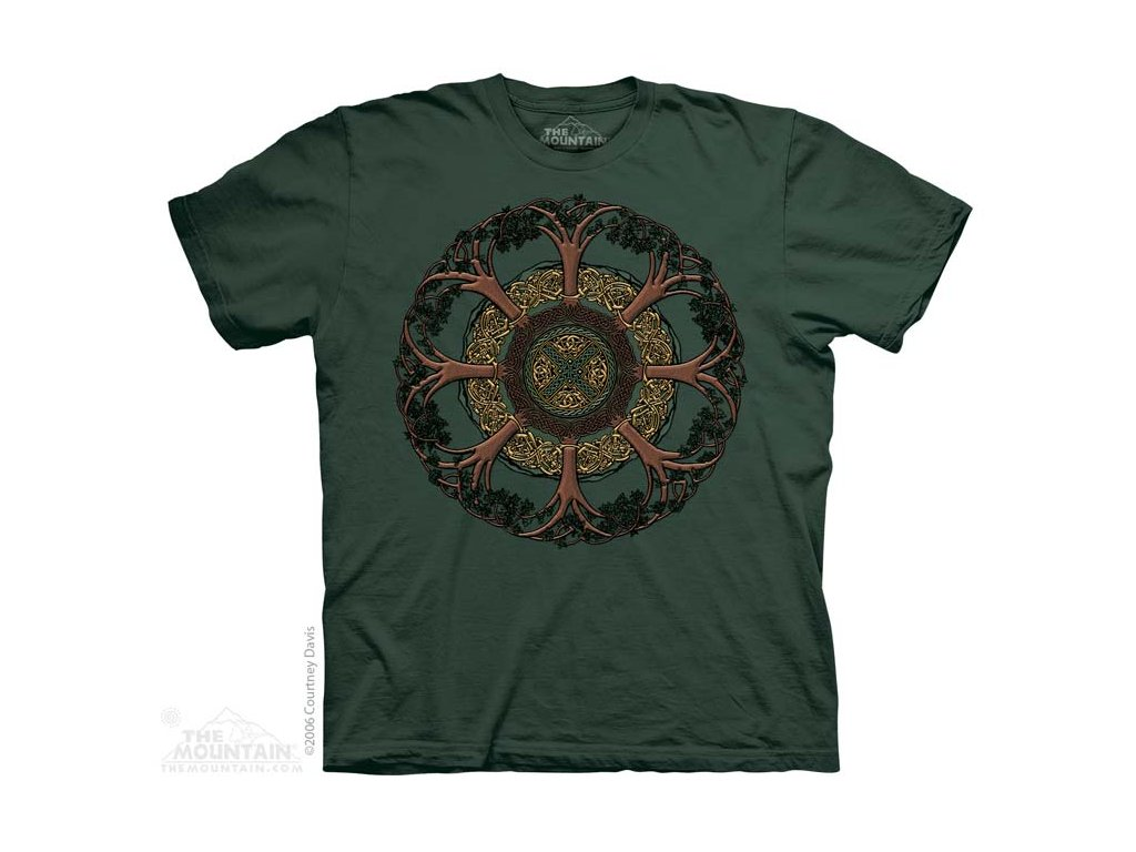 Tričko s Keltským stromem - Celtic Tree - 2017