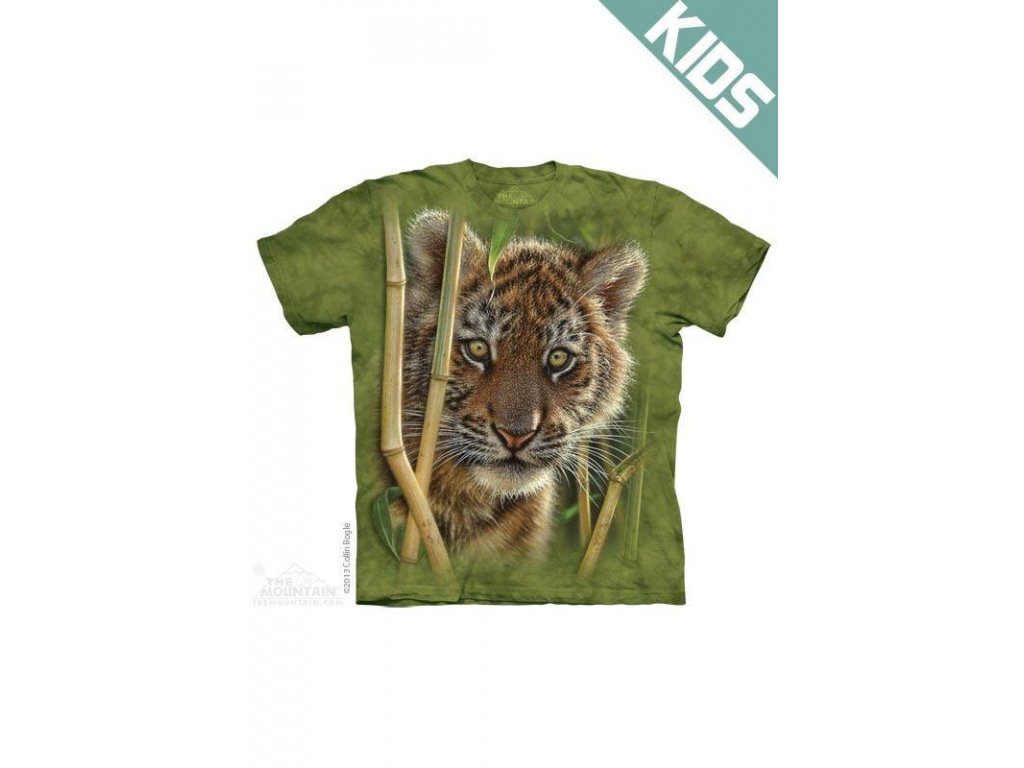 Tričko s potiskem tygřík - Dětské - 2017