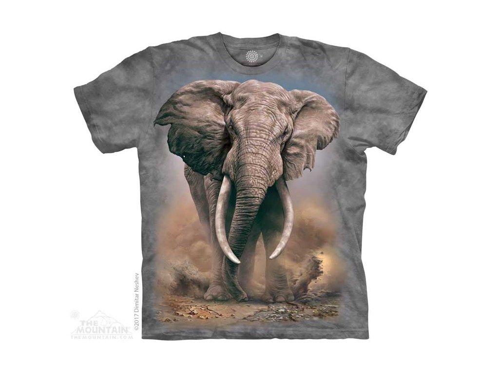 Dětské Tričko Africký Slon
