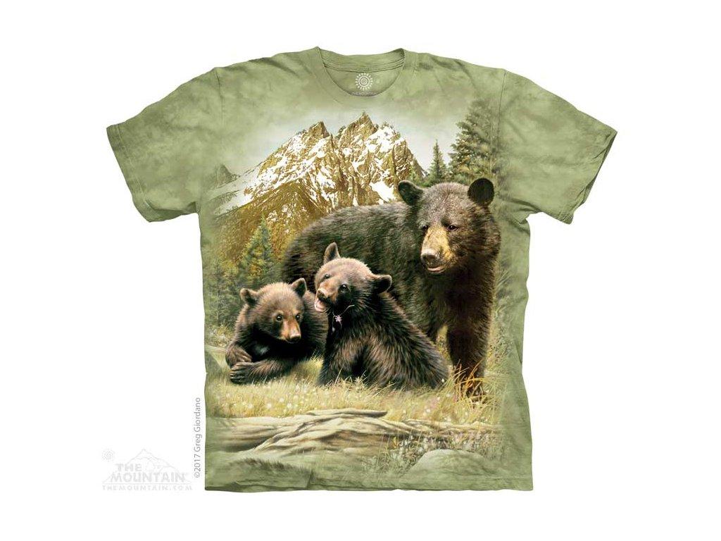 Dětské Tričko Medvědí Rodinka