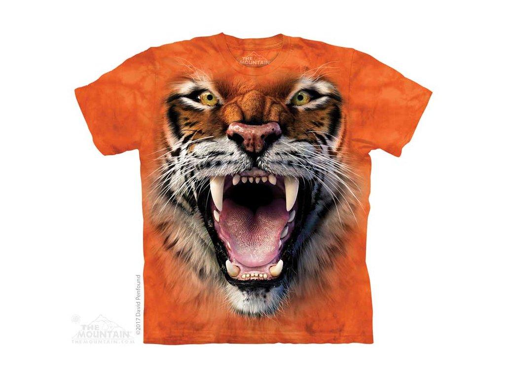 Dětské Tričko Řvoucí Tygr