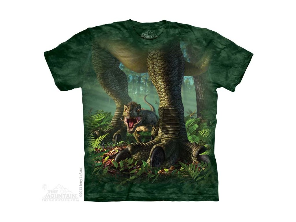 Tričko s potiskem mládě rex - Dětské