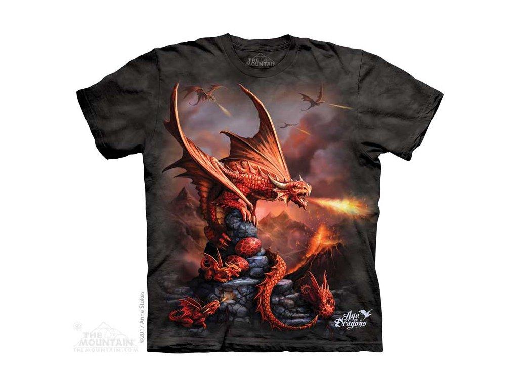 Dětské Tričko Fire Dragon