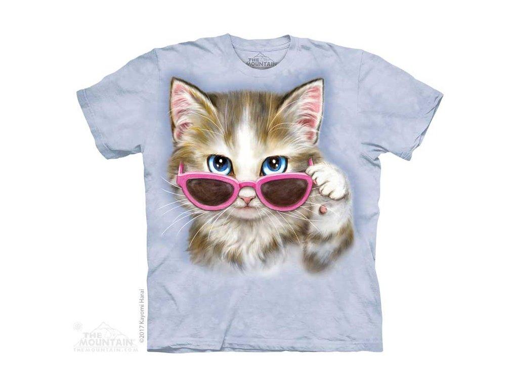 Dětské Tričko Koťě s brýlemi