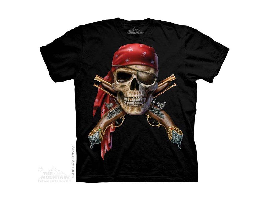 Tričko lebky a muškety - Skull & Muskets - 2017