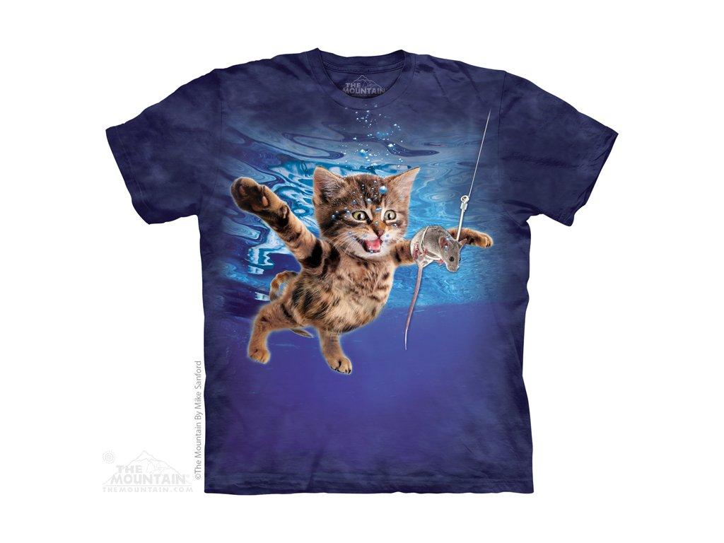 Tričko Koťátko loví myšku