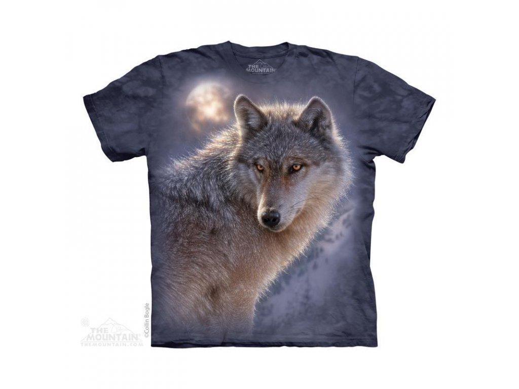 Tričko Bílý vlk
