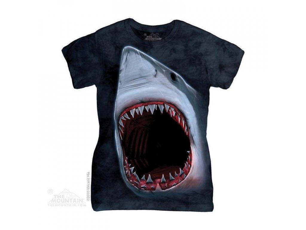 Tričko Bílý žralok - Dámské