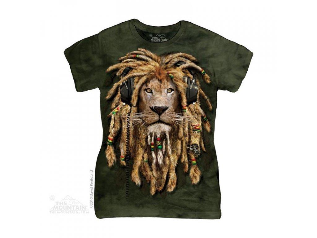Tričko Rasta lev - Dámské