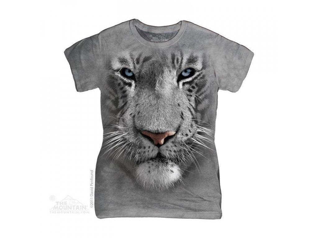 Tričko Bílý tygr - Dámské