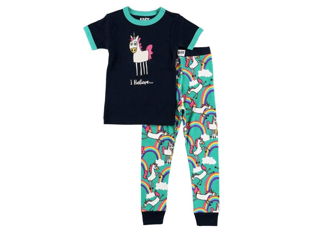 Dětské Pyžamo Jednorožec Holčičí