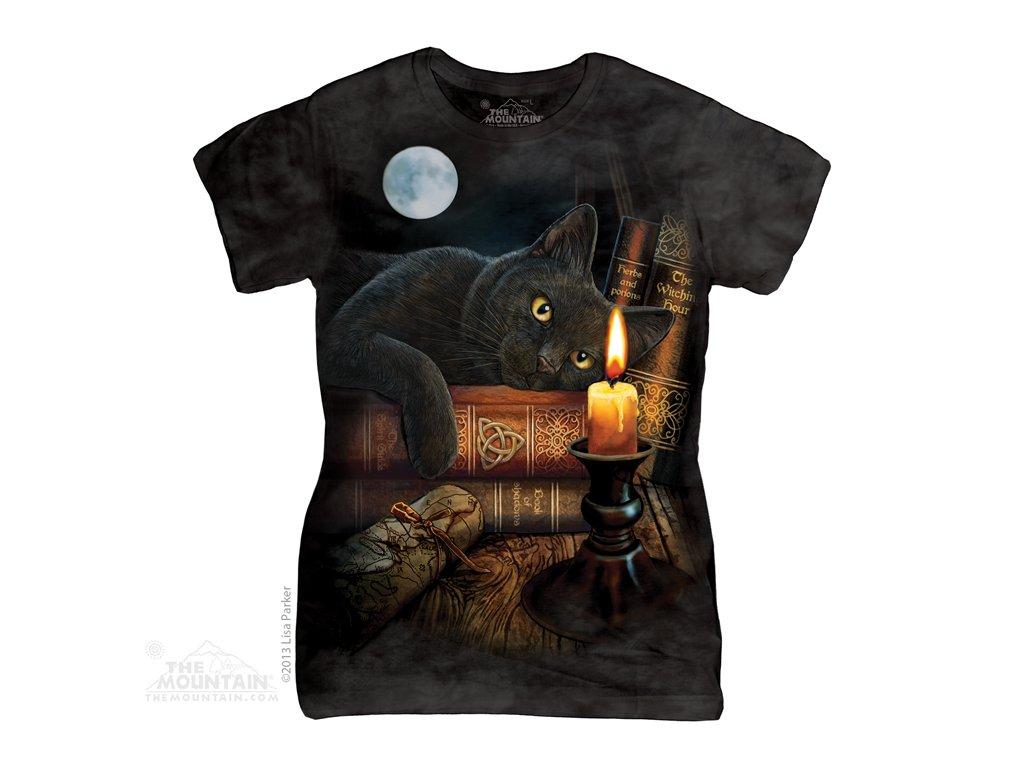 Tričko Kouzelnická kočka - Dámské