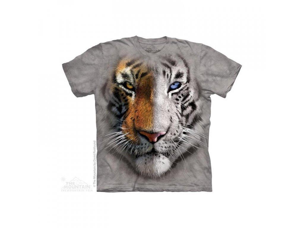 Tričko Dvoubarevný tygr - Dětské
