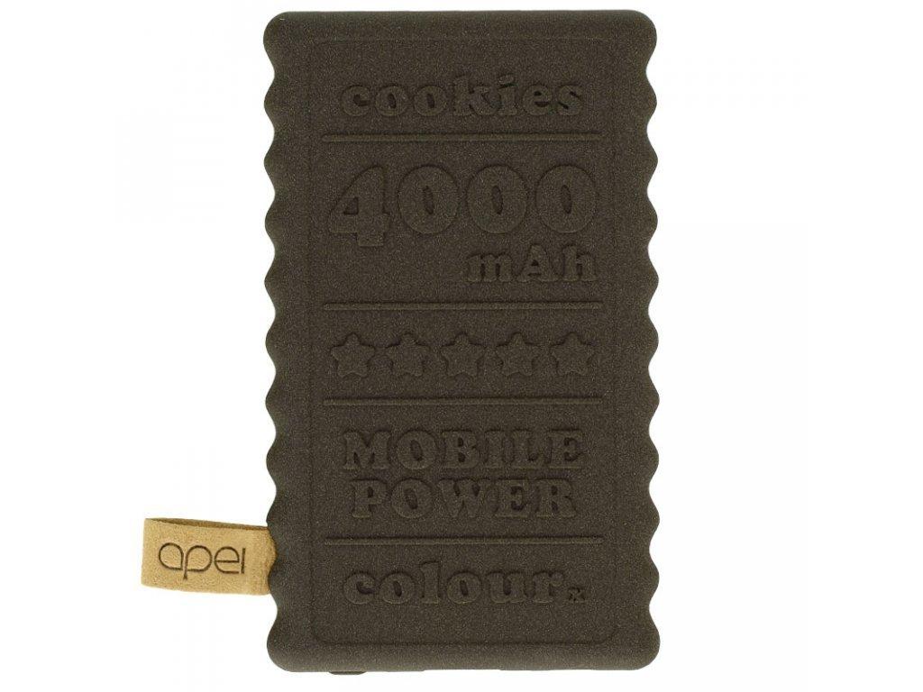 Powerbanka Apei Cookie 4000mAh Hnědá