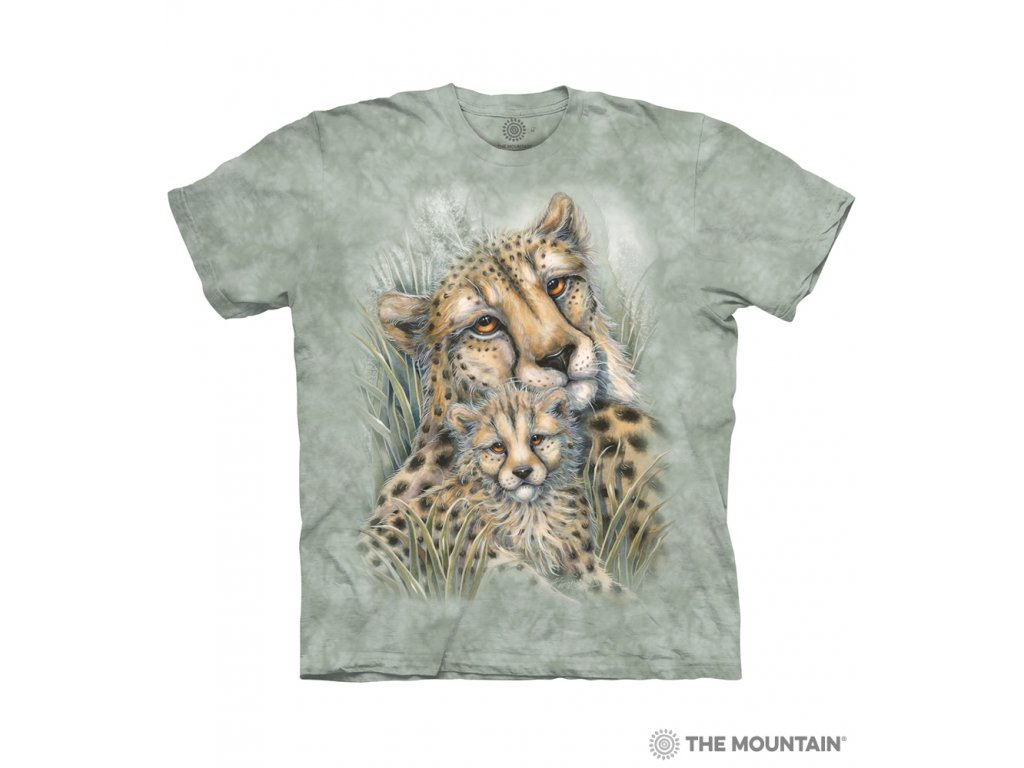 Tričko Gepard s mládětem