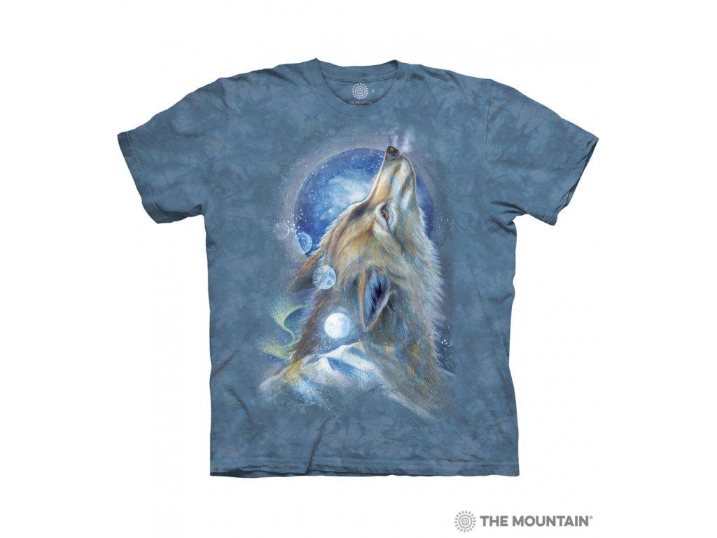 Tričko Vlk Vyje na Měsíc