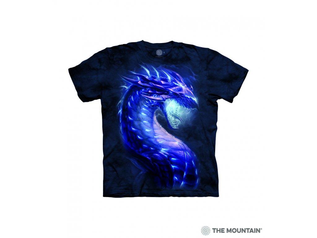 Tričko Modrý drak - Dětské