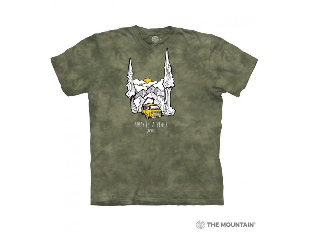 Tričko Obytný vůz v horách