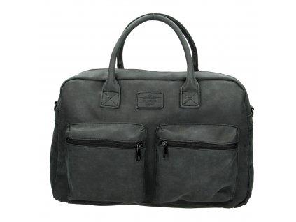 Dámská příruční taška Beagles - černá