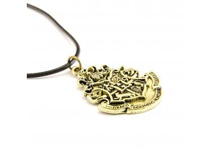 Harry Potter náhrdelník erb Bradavice - Hogwarts
