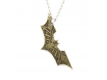 Náhrdelník Batman - bronz