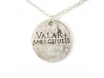 Náhrdelník Hra o trůny - Game of Thrones - Valar Morghulis