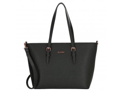 Elegantní kabelka London Marantes Charm - černá