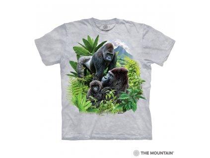 Tričko Gorilí rodina
