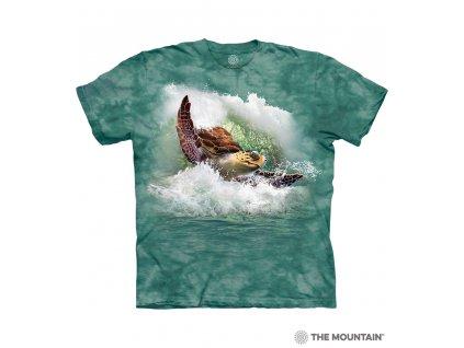 Tričko Surfující mořská želva