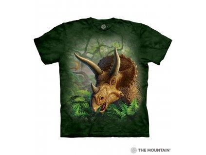 Tričko Portrét Triceratopse