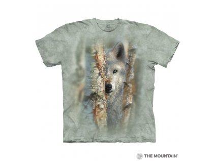 Tričko Soustředěný vlk