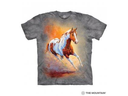Dětské Tričko Kůń v západu slunce