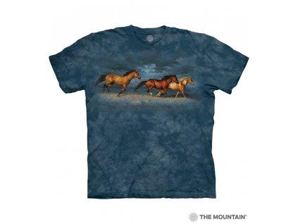 Tričko Koně v bouřce