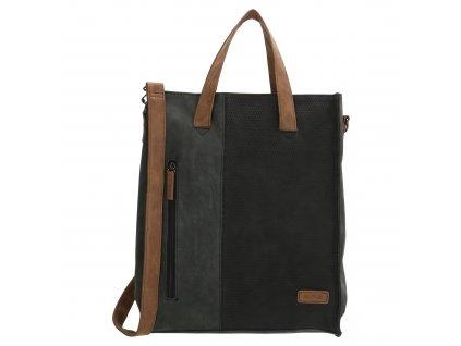 Dámská taška shoperka Beagles Brunete - černá