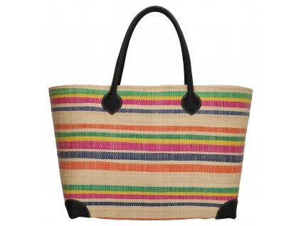 Plážová taška / košík Rafie Mand - multicolor