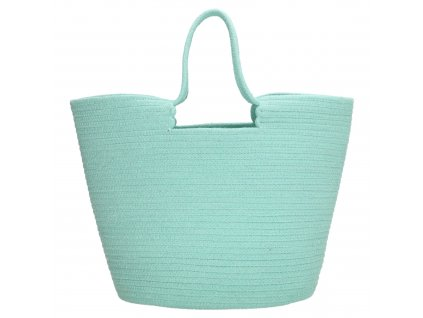 Velká plážová taška PE-Florence Sunset - mint