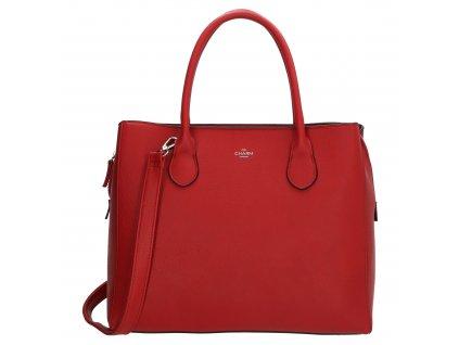 Byznys kabelka na laptop Charm London Stratford - červená