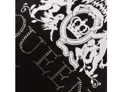 Dámské originální tričko Queen s kamínky - černé
