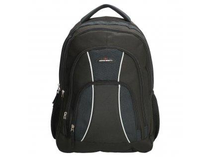 """Praktický batoh na notebook 17,1 """"Enrico Benetti Martinique - černý"""