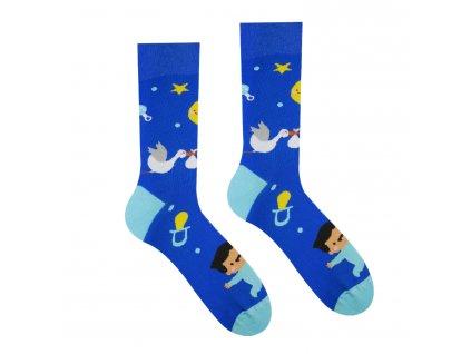 Ponožky bude to Chlapeček