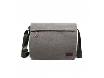 Pánská taška Gorney messenger - šedá