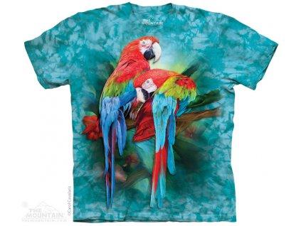 Tričko Macaw papoušci - 2017