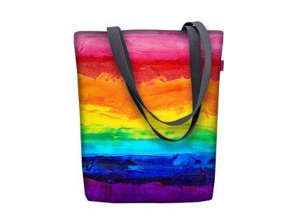Dizajnová taška na rameno Sunny - Colourful