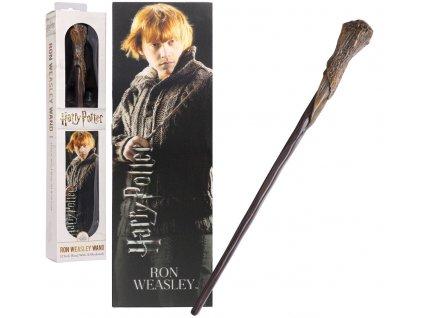 Originální hůlka Ron Weasley 30 cm + 3D Záložka